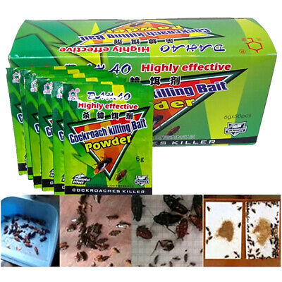 5 Packs Cockroach Killing Ants Bait Powder Insects Insecticide Killing Killers