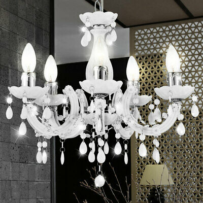 Ceilings Chandelier Hanging Light 44cm Living Room 5 Arms Hall Pendant Lamp