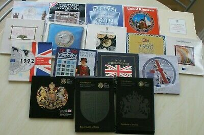 Royal Mint Brilliantly Uncirculated Year Sets - Choose Your Date