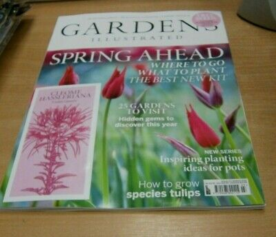 Gardens Illustrated magazine MAR 2019 Where to Go, What to Plant + Violet Queen