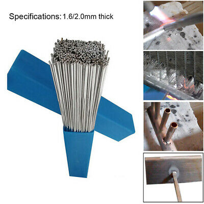 20PCS Silver Aluminium Low Temperature Welding Brazing Rods Wire UK stock