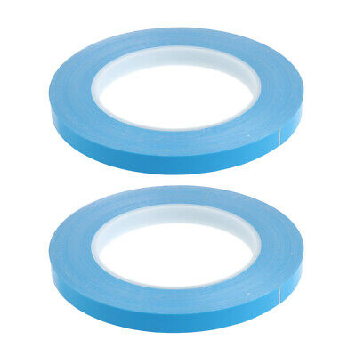 2pcs Thermal Adhesive Conductive Tape Double Sided Cooling Tape 82ft *10mm
