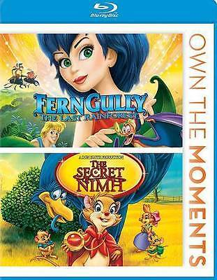 Ferngully/The Secret of Nimh (Blu-ray Disc, 2012) New