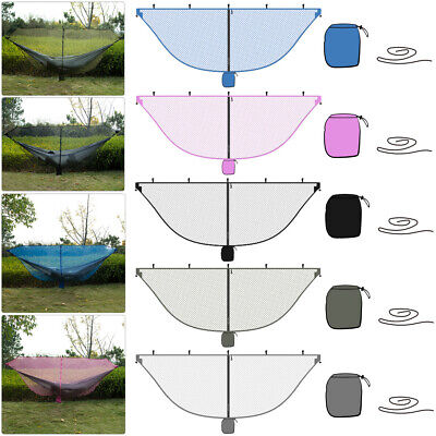 Outdoor Nylon Camping Hiking Mosquito Mesh Net for Double Hammock Hanging Bed