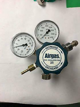 Airgas Two Stage Analytical Gas Cylinder Regulator