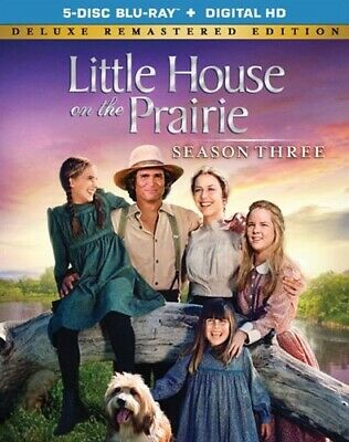 LITTLE HOUSE ON THE PRAIRIE SEASON THREE 3 New Blu-ray Deluxe Remastered Edition