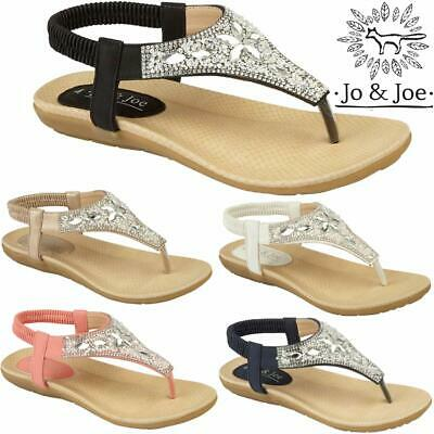 Ladies Flat Low Wedge Sandals Women Summer Beach Fashion Gladiator Strappy Shoes