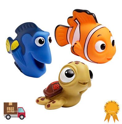 Bath Baby Toy Toys Kids Rubber Tub Water Bathroom Floating Shower Nemo Disney