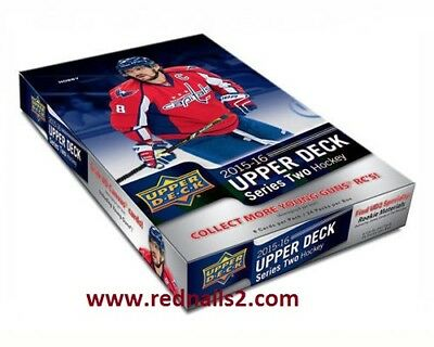 2015-16 Upper Deck Series 2 Hockey Sealed Hobby Box