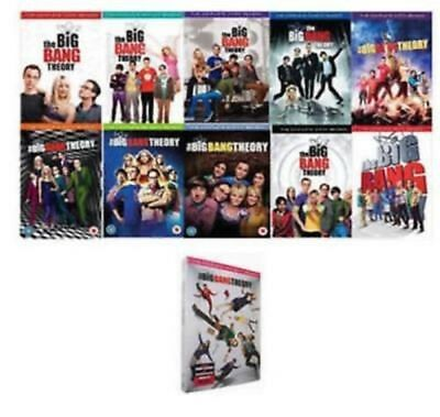 The Big Bang Theory: Complete Series Seasons 1-11 DVD Set- Brand New Sealed