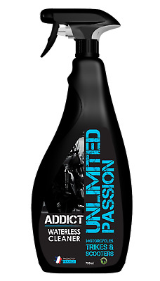 Unlimited Passion Addict Waterless Cleaning & Protection Spray +  FREE Cloth