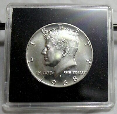1968 S Proof Kennedy Half Dollar Gem Proof ~ 40% Silver Coin~See it