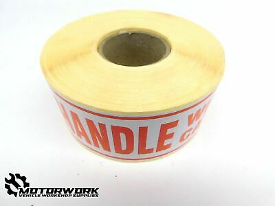 Handle With Care Postage Label Packaging Stickers Roll (148Mm X 50Mm) X 500