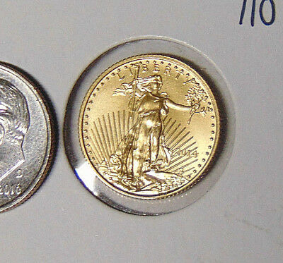 2014 $5 American Gold Eagle 1/10 oz Coin Brilliant Uncirculated