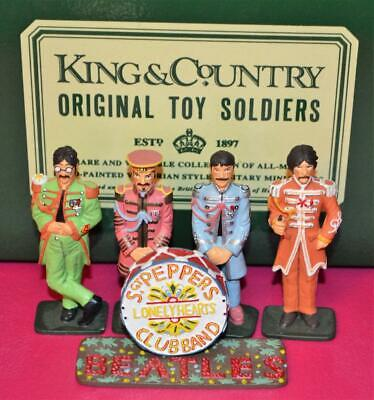 KING & COUNTRY Beatles Sgt. Peppers Lonely Hearts Club Band Set VERY RARE! MINT