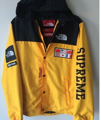 Supreme x Northface Collab Yellow Brand New Size L with Tags f682eb266