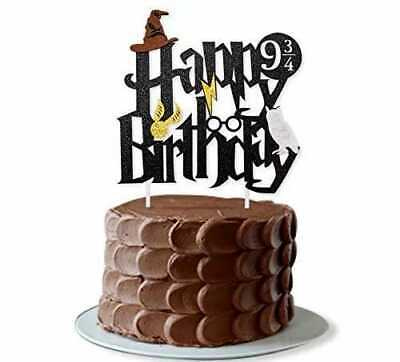 Harry Potter Cake Topper Happy Birthday Cake Decoration AU Stock Fast Delivery