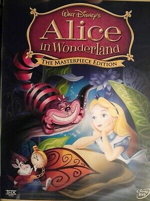 Walt Disney's ALICE IN WONDERLAND-The Masterpiece Edition DVD 2-Disc Set new