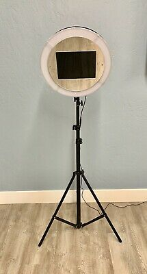 Photo Booth Ring Light With Mirror Face Last Day To Save +Free Shipping
