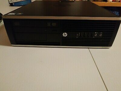 PC slim hp 6300 500gb HD desktop pc Fisso ram 8 gb Windows 10