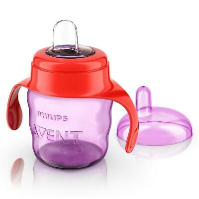 Philips Avent Easy Sip Spout Cup 7oz/200ml (Pink/Red) 6m+ Sippy Cup