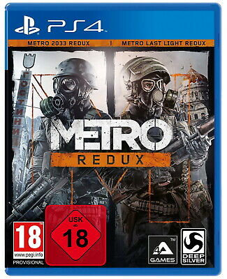 Metro Redux - Metro 2033 + Metro Last Light  - PS4 Playstation 4 - NEU OVP