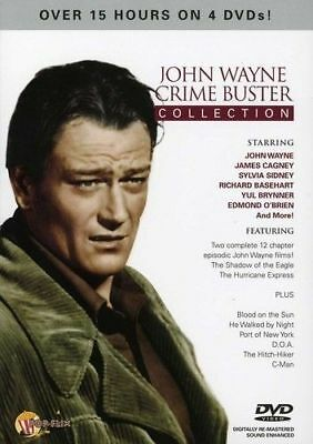 John Wayne Crime Buster Collection (DVD, 2012, 4-Disc Set)