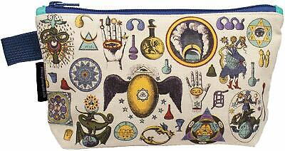 Alchemy Zipper Bag - Cosmetic Beauty Makeup Case Pouch - Mysterious Images