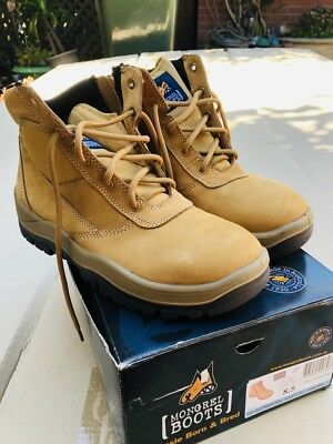 Mongrel - 261050 Zip Side Safety Boots Size 8.5