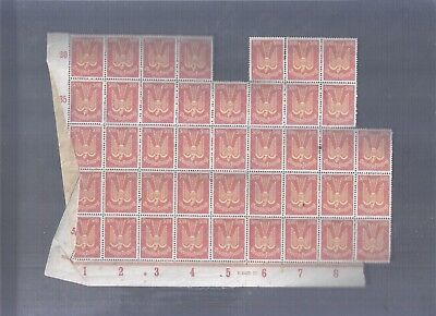 Germany Reich Better Classic Stamps Big Blocks With Plates Mnh