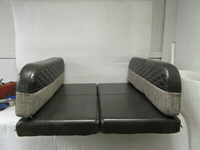 Set Of 38 X 21 Rv Camper Dinette Table Bench Cushions Bed Seat Shades Of Brown
