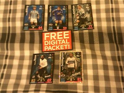 Topps Match Attax Extra 2018/19 Ballers New Signing Extra Boost Etc 6 Cards