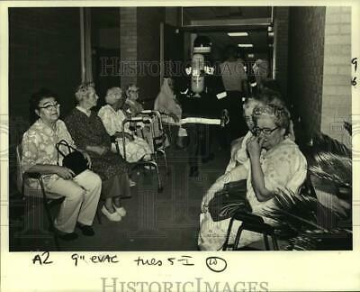 1980 Press Photo Fire broke-out at the Mary Joseph Residence for the Elderly