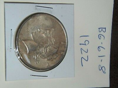 1922 PEACE Silver Dollar YOU WILL GET WHATS IN THE PICTURES.(BG-61-8)