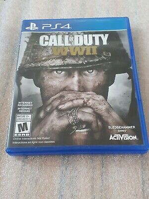 Call of Duty: WWII (Sony PlayStation 4, 2017) No Manual