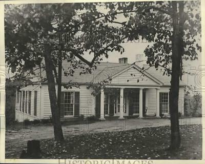1932 Press Photo Franklin D. Roosevelt's rustic cottage at Warm Springs, Georgia