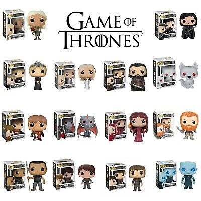 FUNKO POP Game of Thrones Action Figure Collectible Model Toys Jon Snow Daenerys