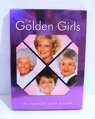 The Golden Girls - The Complete Sixth Season 6 (DVD, 2006, 3-Disc Set) NEW!