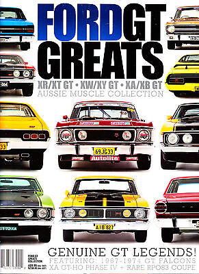 FORD GT GREATS;XR,XT,XW,XY,XA,GTHO Phase IV,RPO83 XB 289,302,351 Sedan,Coupe.NEW