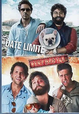 TOD PHILLIPS-Coffret Date Limite - Very Bad Trip 2 Dvd DVD NEW