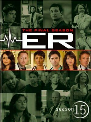 ER SEASON 15 New Sealed 5 DVD Set