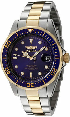Invicta Pro Diver GQ 8935 Wrist Watch for Men !!!!!WATCH FACE IS BLACK!!!!!
