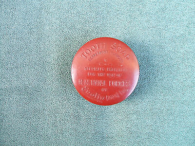 Old Bakelite H.M.Naval Forces Tooth Soap Enolin(1926) Ltd Box + Contents c 1920s