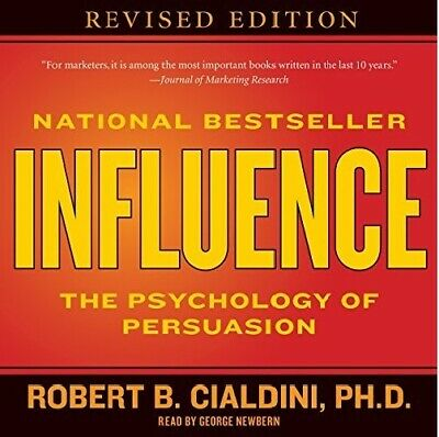 Influence: The Psychology of Persuasion Robert B. Cialdini -AUDIOBOOK e-Delivery