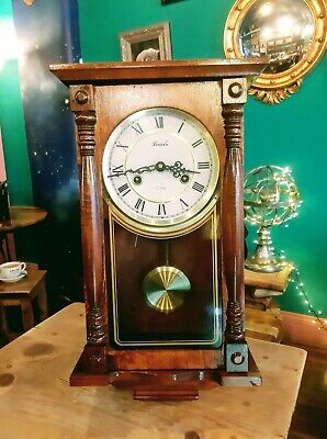 Lincoln 31 Day Wall Clock With Pendulum.