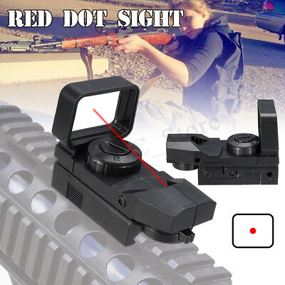 AU Black Tactical Holographic Reflex Red Dot Sight Scope for Hunting