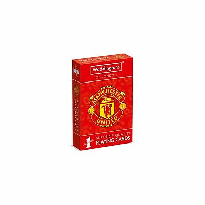 Manchester United FC Waddingtons Number 1 Playing Cards