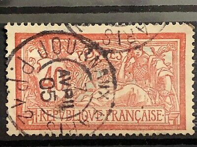 4 FRANCE 1900 type MERSON 40 cts N° 119 cachet journaux