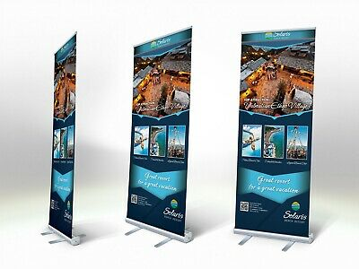 Roll Up Banner - Unprinted