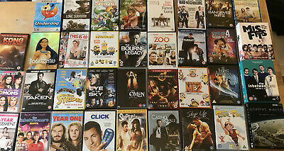 32 DVDs Collection Bundle Job Lot Bulk Buy Top Titles & 3 Box sets